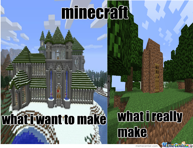 How To Build An Average House In Minecraft