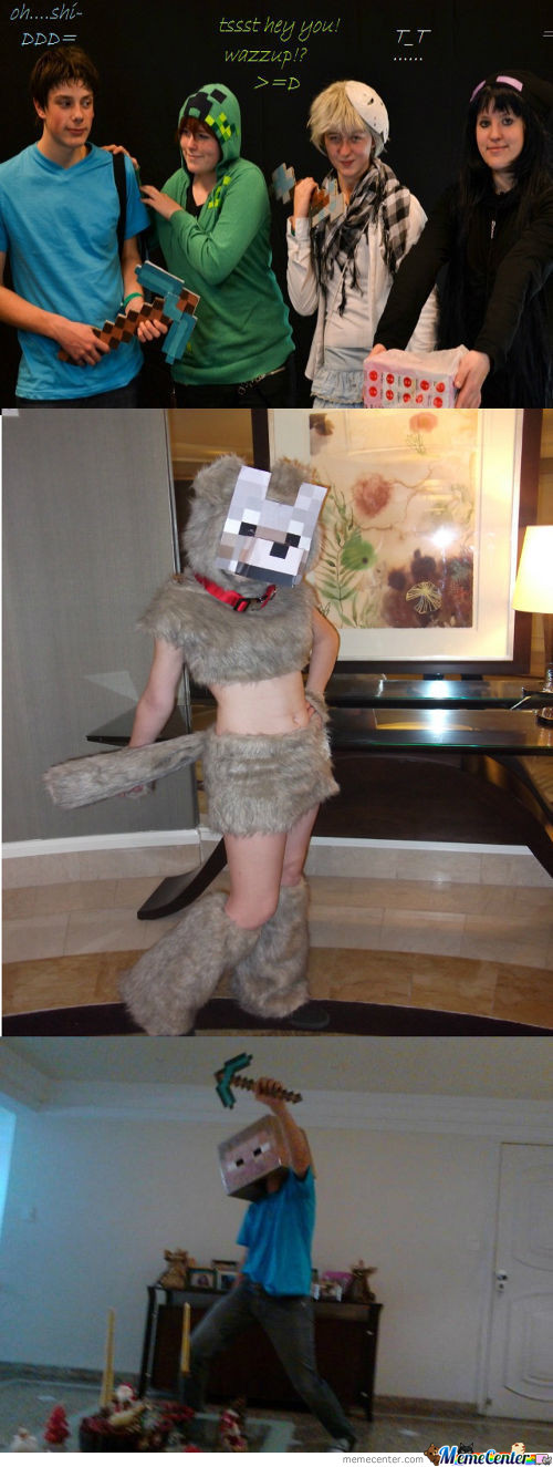 Minecraft Cosplay... Again