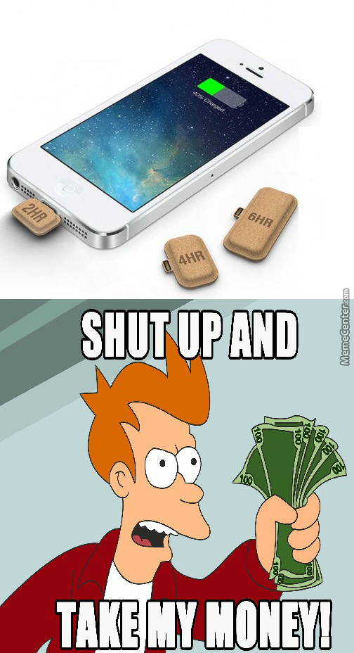mini batteries for the phone by mikejohnson meme center