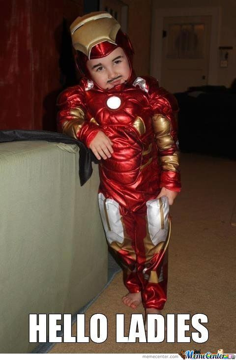 Mini Iron Man.