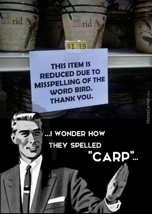 Misspelling Is Good For Your Wallet