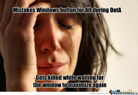 Mistakes Windows For Alt