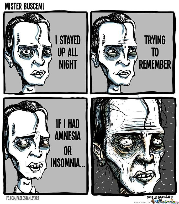 Mister Buscemi Paradox