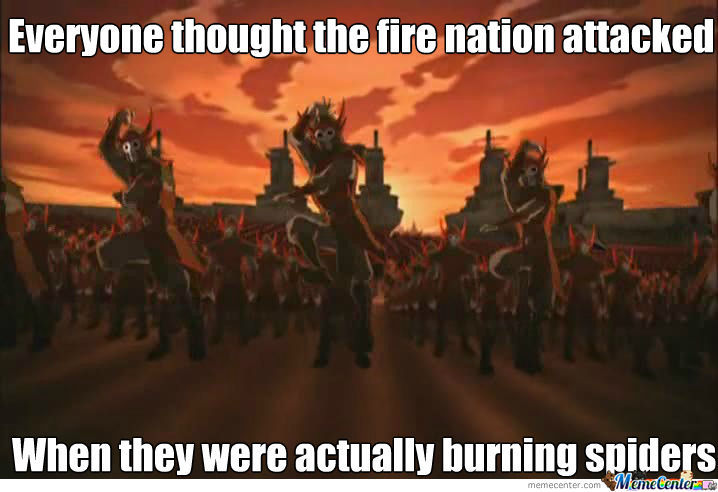 Misunderstood Fire Nation