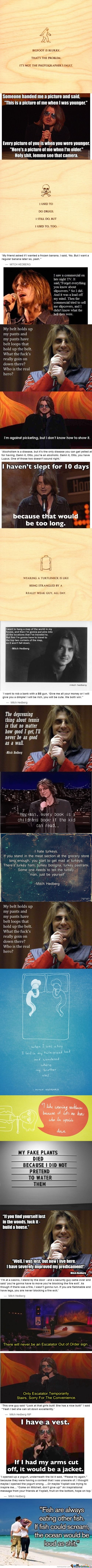 Mitch Hedberg Comp