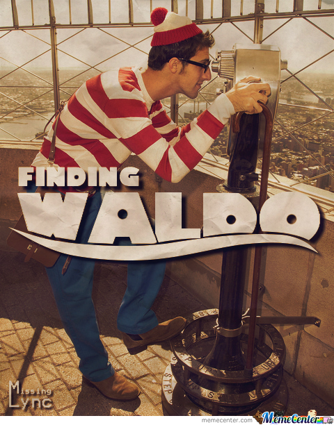 [Mix Media: #1] Finding Waldo