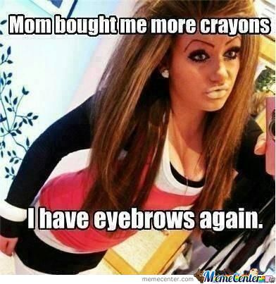 Mom Bought Me Crayons