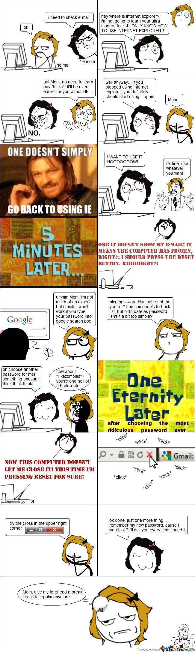 Moms. Can't Get Along With Computers Since... Since They Were Invented :)