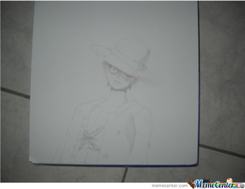 Monkey D Luffy Op.just Finished