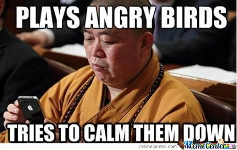 Monks And Angry Birds