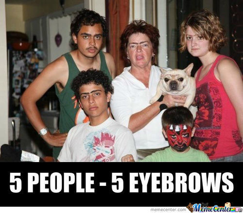 Monobrows