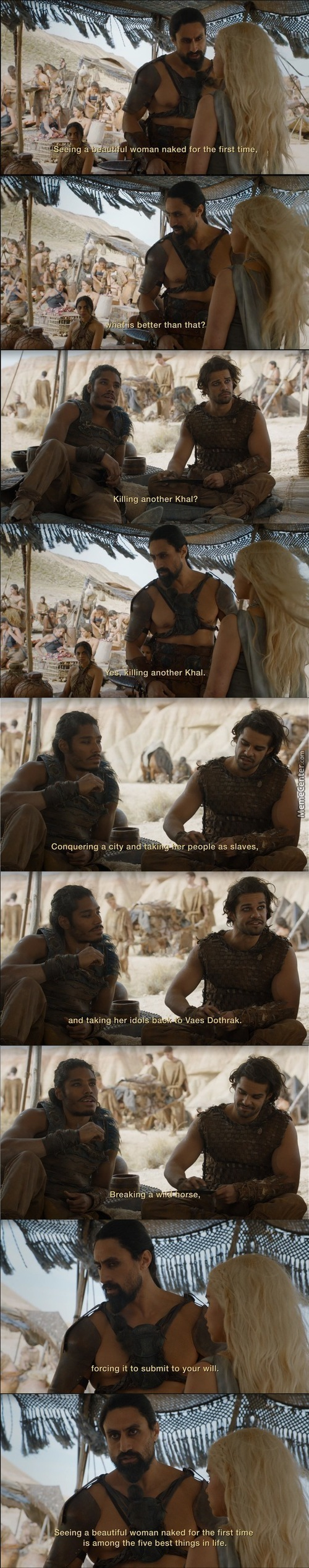 Monty Python Meets Game Of Thrones