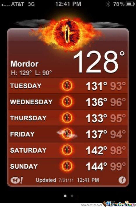 Mordor, Not So Simply...