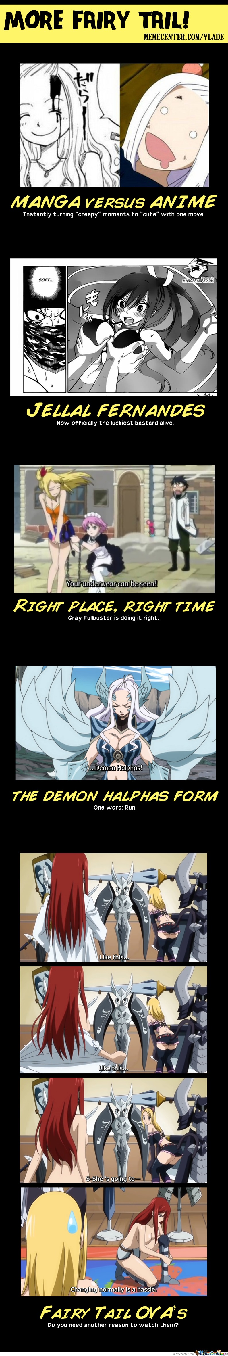 More Fairy Tail!