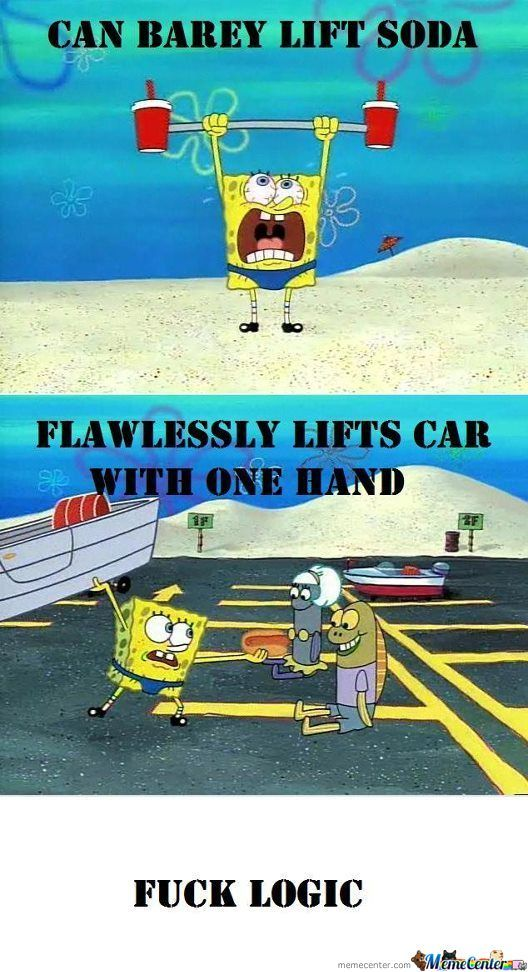 More Spongebob Logic!