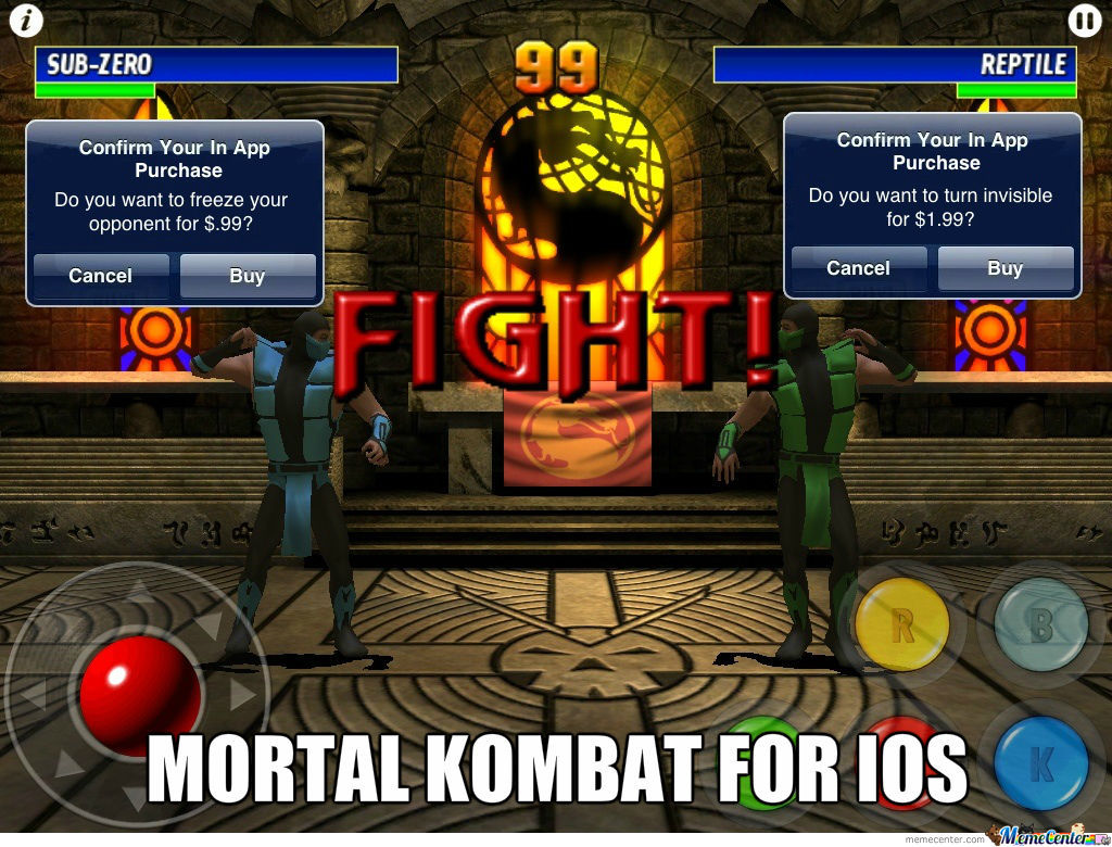 Mortal Kombat For Ios