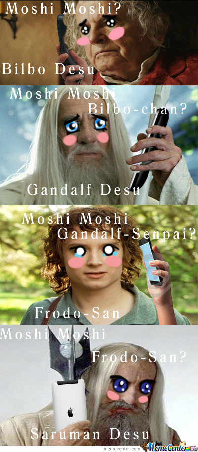 Moshi Moshi L.o.t.r. Desu (Am I Doing It Right??)