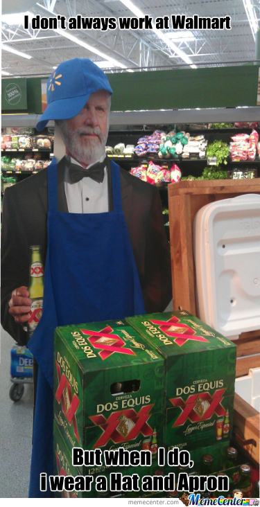 Most Interesting Associate In A Walmart