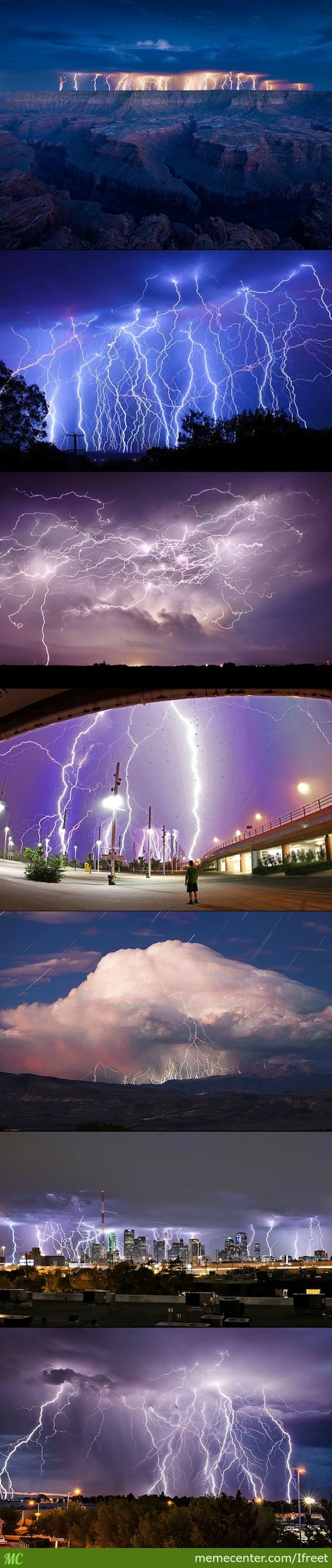Mother Nature Giving God An Orgasm