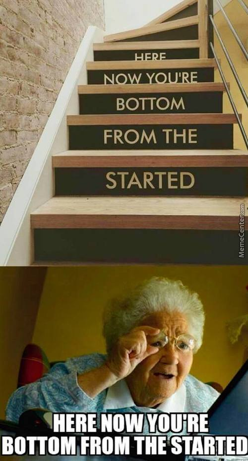 Motivational Stairs!