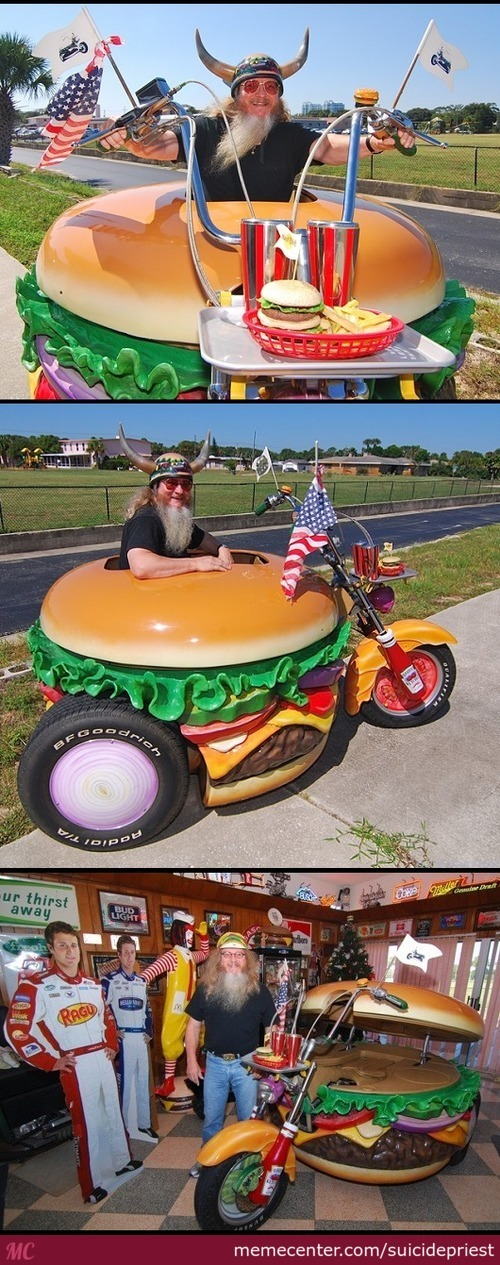 Motorcycle: Murican Version
