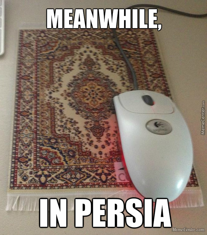 Mouse Carpet Level: Persia