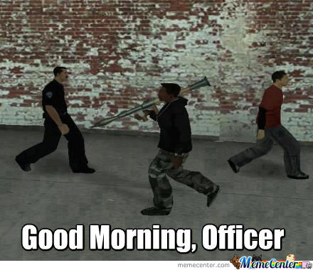 GTA Logic: Move Along, Sir.