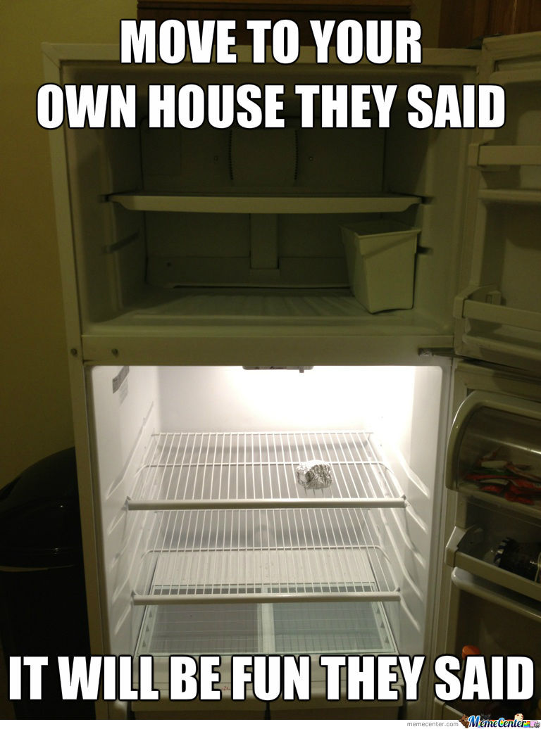 Move To Your Own House They Said
