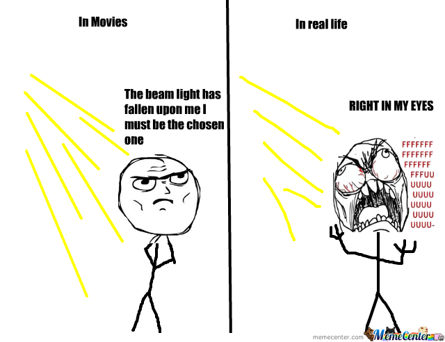 Movies Vs Real Life