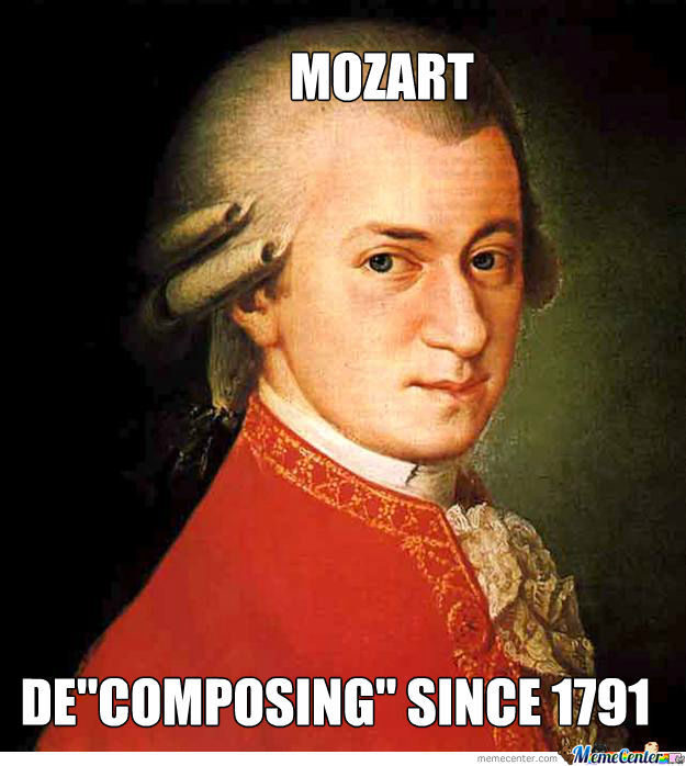 Mozart Decomposing