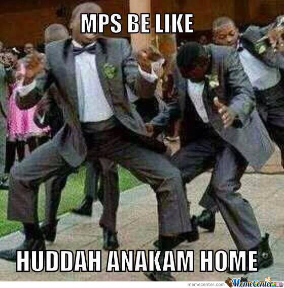 Mps Be Like... Huddah Anakam Home!