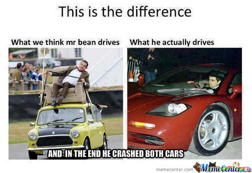 Mr Bean Cars
