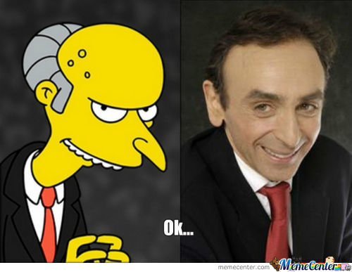 Mr. Burns Is Freaking Real !
