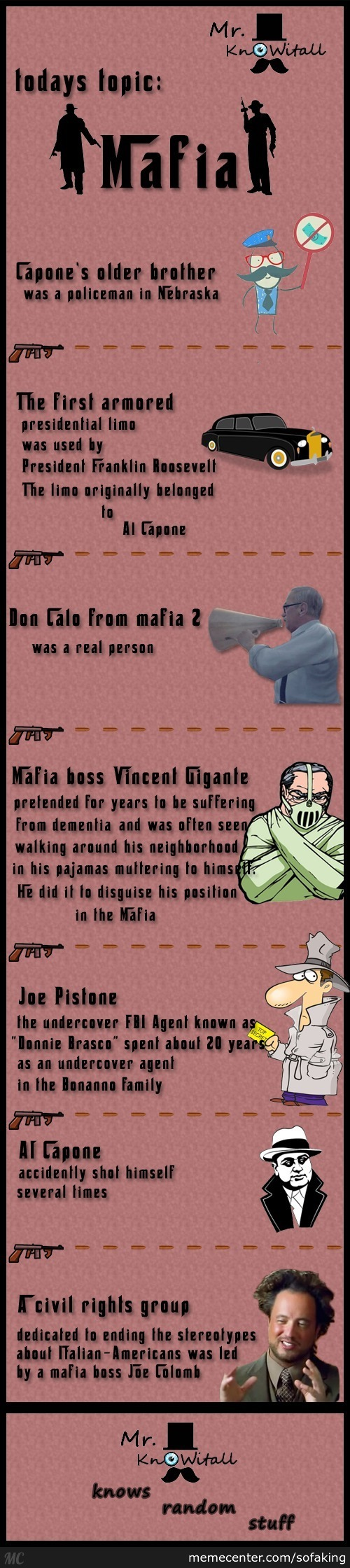 Mr Knowitall On Mafia