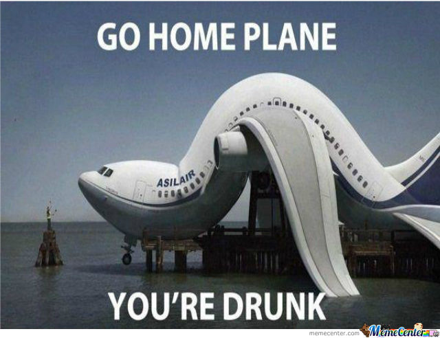 Mr.plane Go Home, You're Drunk