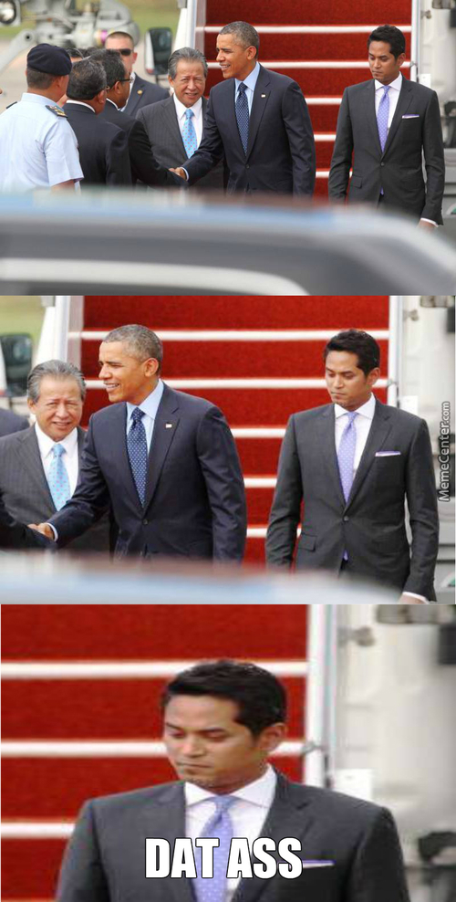 Mr. President Has Arrived To Malaysia