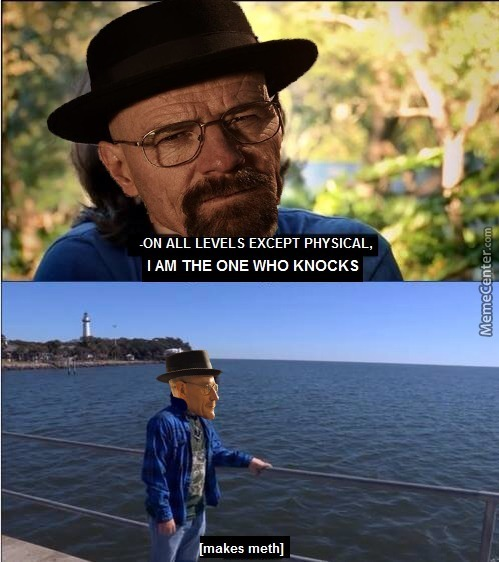 Mr White Is The One Who Knocks, Bitch