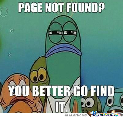 Mrw Page Not Found