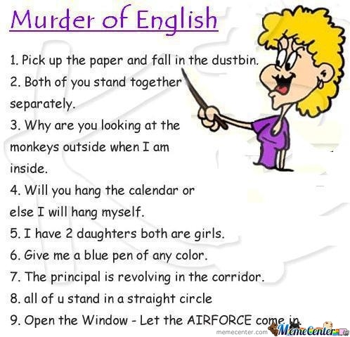 Murder Of English