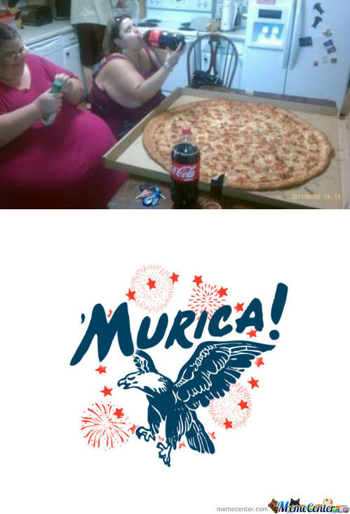 Murica, Land Of The Free And Fat