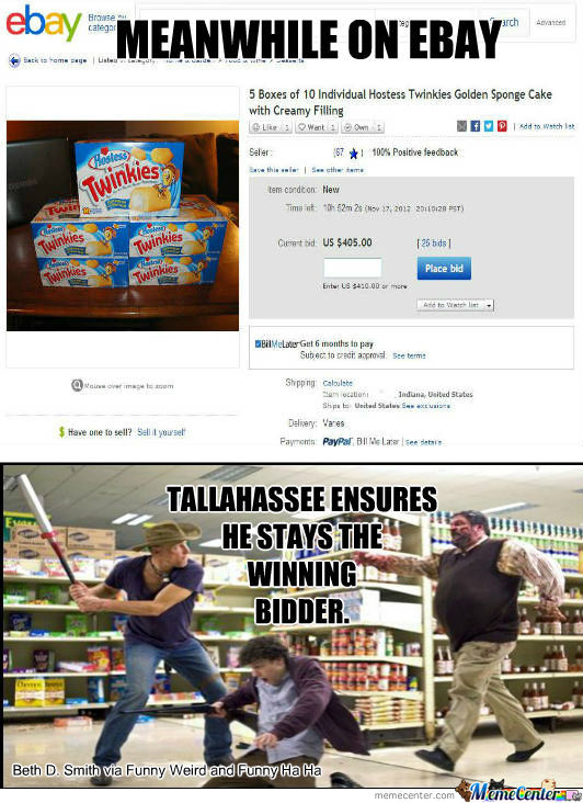 Must Win Twinkies