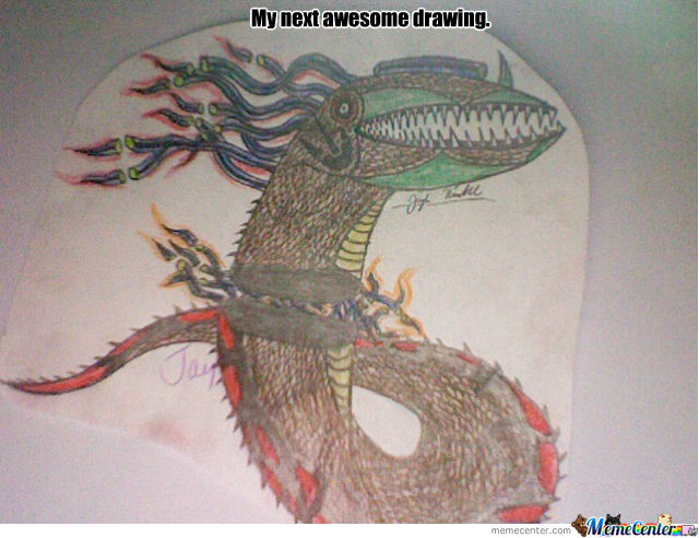 My 2Nd Awesome Drawing!