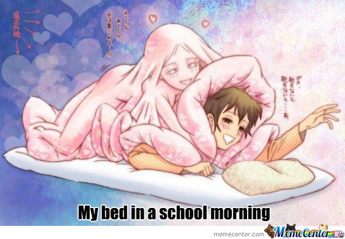 My Bed In A School Morning