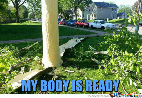 My Body Is Ready Level: Tree