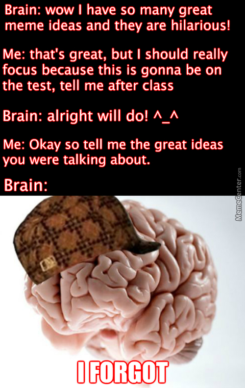 My Brain Is An Asshole