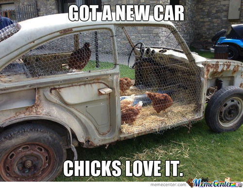 My Car Bringing All The Chicks To The Yard.