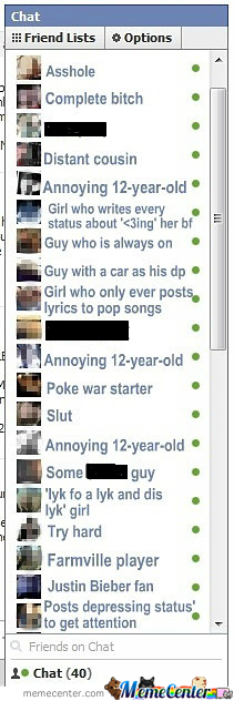 My Chat Box On Facebook