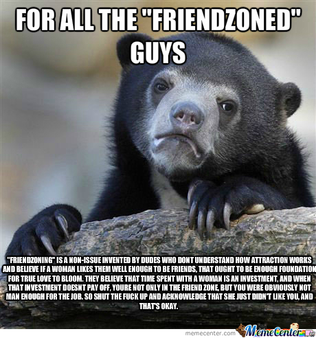 My Confession On The Friendzone Thing