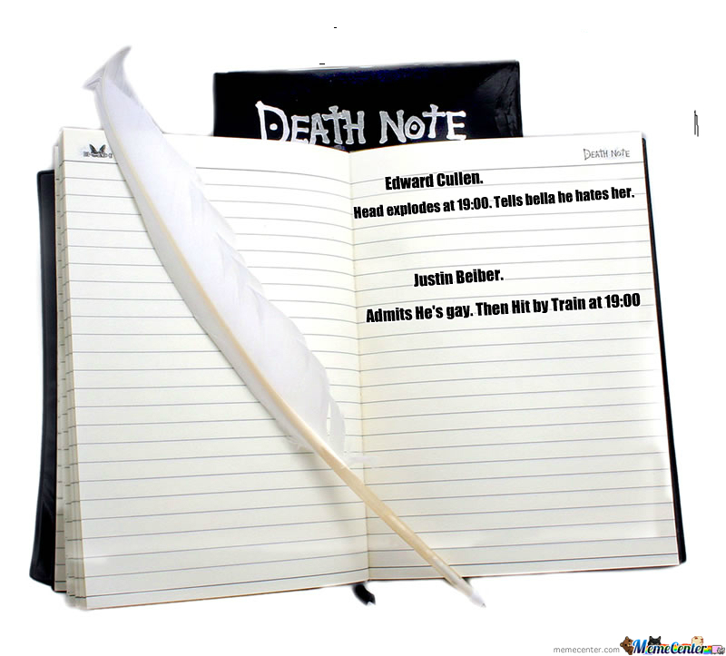 My Death Note.