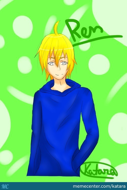 My Drawing Of Ren [Plzdon'thateme]